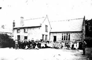 School group, Winterton Wesleyan School.