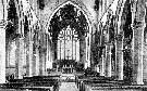 Interior of the Church of St. John the Evangelist, Scunthorpe in 1904.