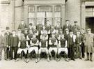 Scunthorpe United F.C., Season 1904-1905 taken by Arthur Singleton.