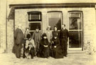 Family photograph taken in front of the Dining Room window at the Manor House, Brigg on October 10th 1892.